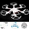 2016 33051 Rolo Zangão Hexacopter RC Quadcopter 3D com 2.4G 4CH 6 Axis Gyro Um Retorno Chave Headless Fácil Voar Modo Infantil presente
