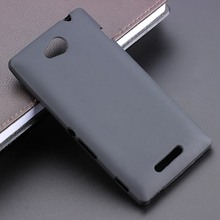Multi Color Gel TPU Slim Soft Anti Skiding Case Back Cover For Sony Xperia C S39