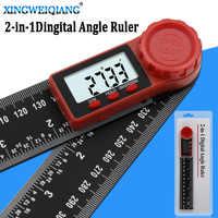 200mm digital instrument winkel neigungsmesser winkel digitale skala elektronische goniometer winkelmesser winkel detektor