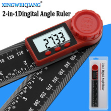 200mm digital instrument angle inclinometer angle digital scale electronic goniometer protractor angle detector