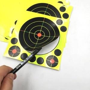 "Image 4 - Gun Air rifle obiettivi di Ripresa 8 ""X 8"" Colori Triple Reattiva & splatter obiettivi di Ripresa"