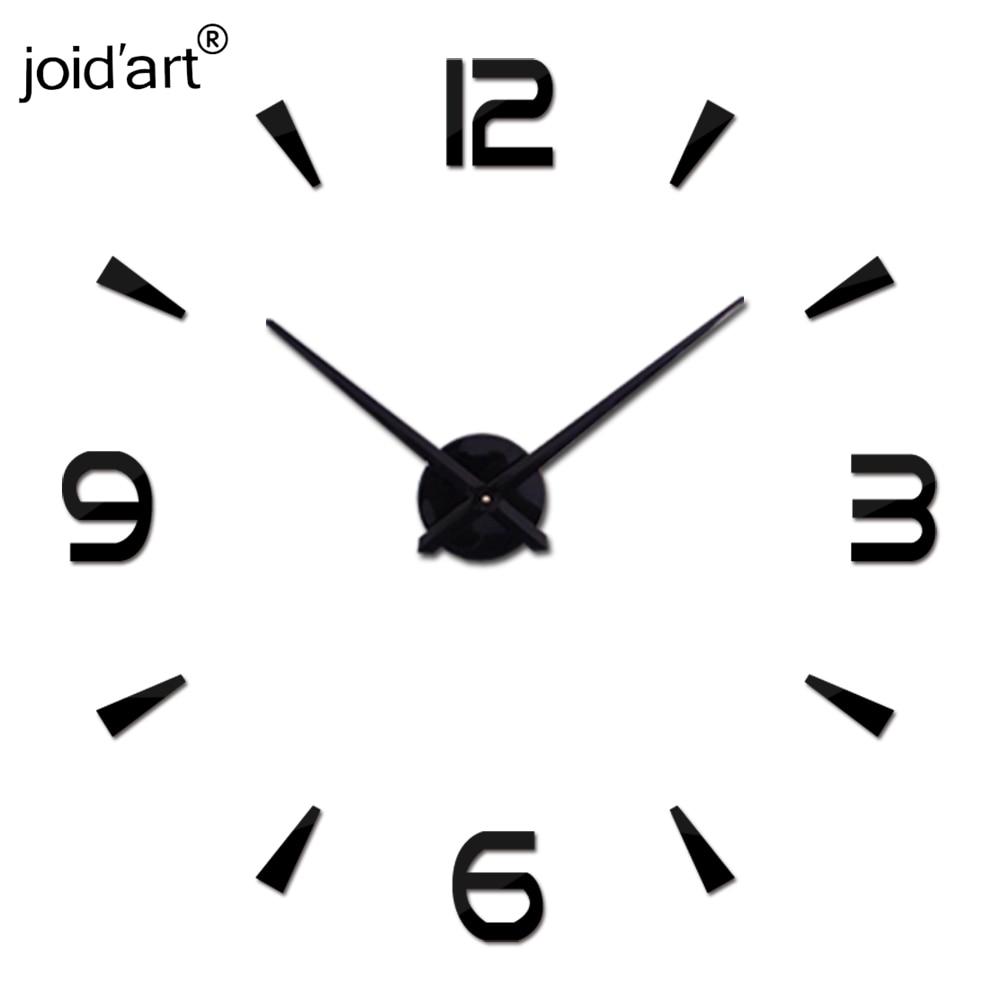2019 Yeni Diy Duvar Saati Akrilik diy Saatler Kuvars İzle Reloj De - Ev Dekoru - Fotoğraf 3