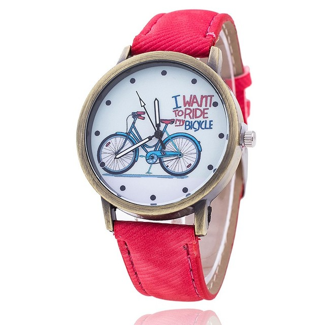 2018 New & Simple Bike Watch Suitable as a surprise birthday gift, give your fri
