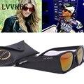2017 NEW Hot Марка дизайн мужчины солнцезащитные очки спортивные солнцезащитные очки женщины Цветные линзы логотип Бренда с первоначально упаковывать Gafas de sol