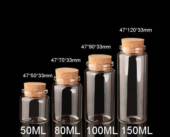 Bouteilles en verre à faire soi-même 12 pièces | Bouteilles dartisanat en liège, bocaux cadeau de mariage, bouteilles vides, 50ml 80ml 100ml 150ml