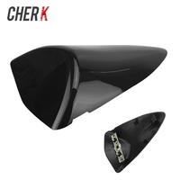 Cherk Motorcycle Black Rear Seat Cover Fairing Cowl Solo Racer Scooter Seat For Kawasaki Ninja ZX 6R Zx6r 636 2007 2008 07 08