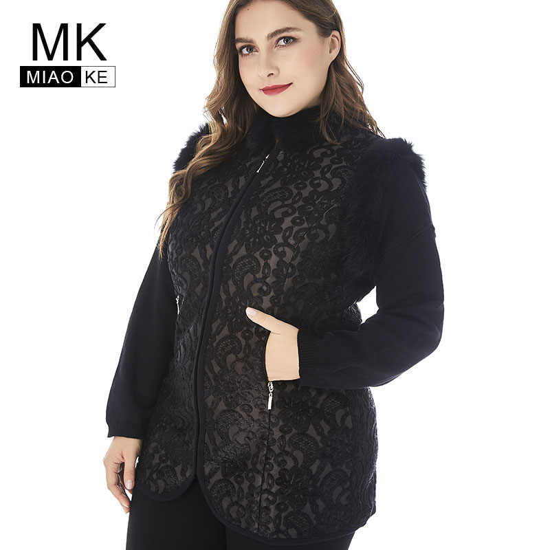 1b9e4a785c0 Miaoke 2018 Winter Womens Vest Coats Plus Size Jacket For Women High  Quality Fashion Ladies Vintage