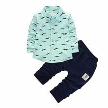Kids Gentleman Clothes Toddler Tracksuits Autumn Children Boys Girls Fashion Clothing Sets Baby Beard T-shirt Pants 2Pcs Suits недорого