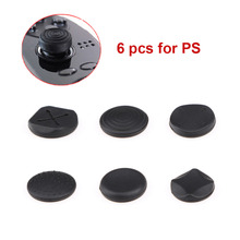 6Pcs/Lot Enhanced Silicone Analog Controller Thumb Stick Grips Cap Skin Cover Game Console Joystick Cap For PS Vita For PSV 1000