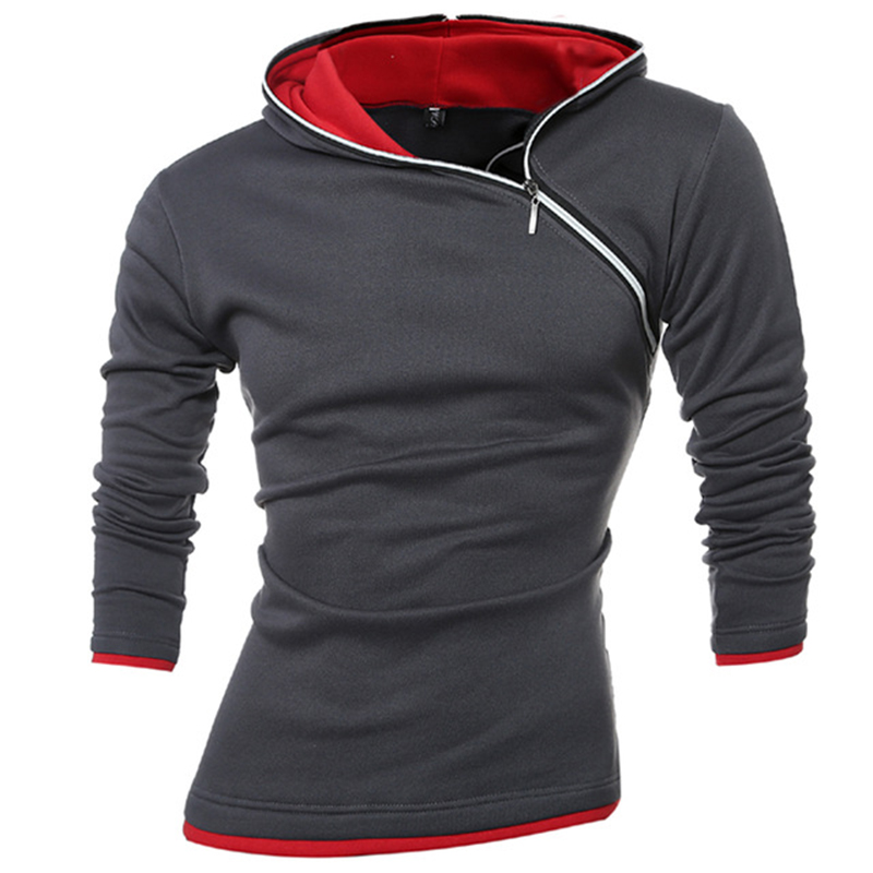 2019 Hoodies Men Sudaderas Hombre Hip Hop Mens Brand Leisure Zipper Jacket Hoodie Sweatshirt Slim Fit Men Hoody XXXL in Hoodies amp Sweatshirts from Men 39 s Clothing