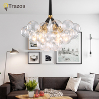 Modern LED Grass Chandelier Lighting Living Room Bedroom Chandeliers Creative Home Lighting Fixtures AC110V/220V Free Shipping