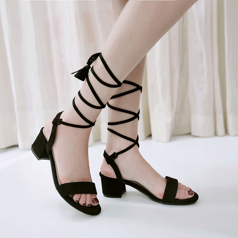 New Sandals Women Big Size 34- 47 Sandals Fashion casual lace-up Rome style Shoes Ladies Lady Shoes Women P806 плакат a2 42x59 printio драко малфой