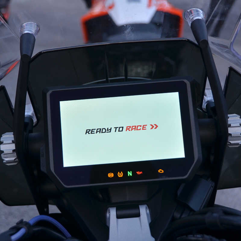 Para ktm 1290 super aventura r s t 2017 2018 cluster scratch protector filme blu-ray speedo instrumento dashboard guarda motocicleta