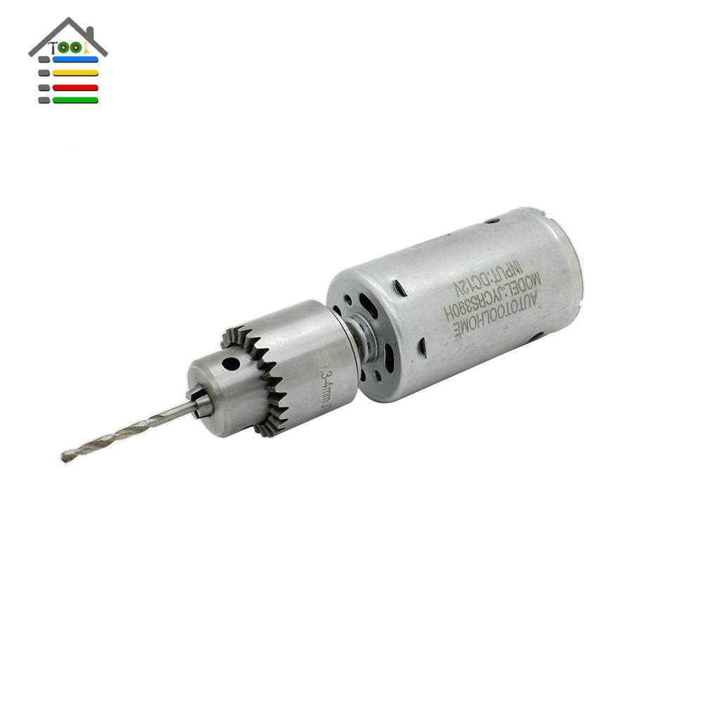 Dc 3 12v Electric Motor Small Mini Pcb Hand Drill Press