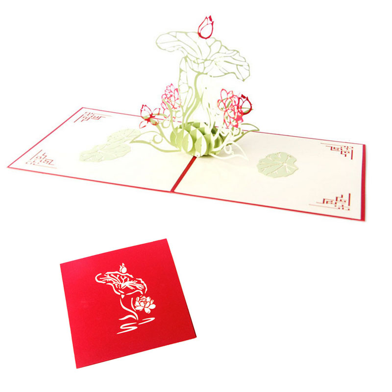 Online Buy Wholesale gift card flowers from China gift card – Flower Valentine Card