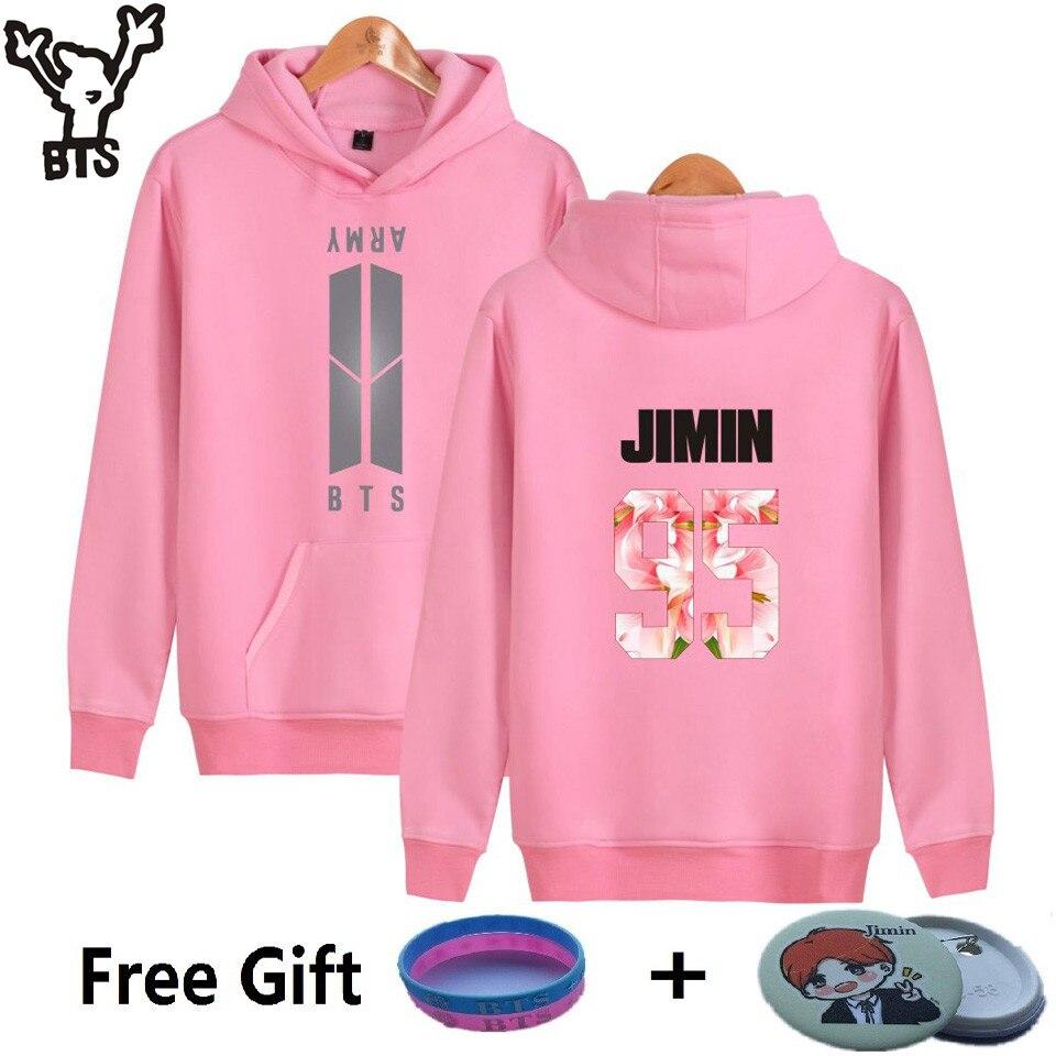 BTS K-pop Hooded Harajuku Hoodies Women Winter Popular Bangtan Hip Hop Sweatshirt Women Fashion Korea Kpop Fans Female Clothes