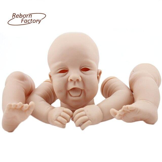 3361 Sin Pintar Traje Kits Para 22 Pulgadas Realistas Bebés Reborn Baby Doll Kits Tatum Noel Por Sandy Faber Muñeca Accesorios En Muñecas De