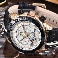 LIGE 2019New Роскошные модные Tourbillon автоматические механические мужские часы с повседневными деловые водонепроницаемые часы Relogio Masculino