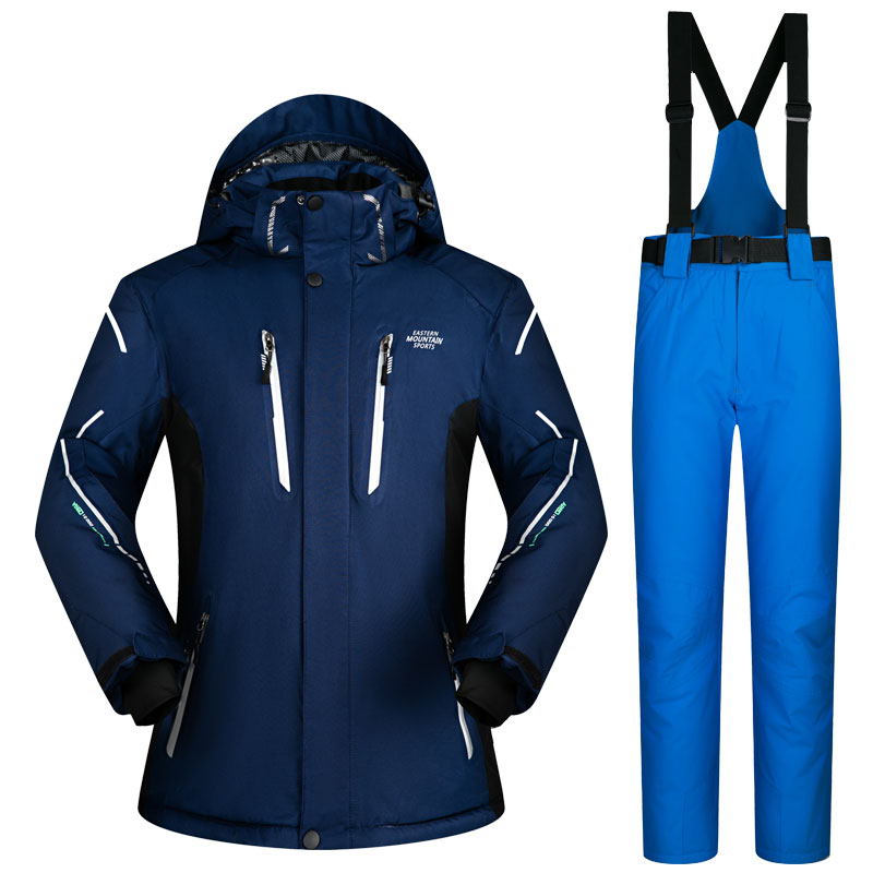 MUTUSNOW Men Ski Suit Skiing Jacket Pant Windproof Waterproof Outdoor Sport Wear Snowboard Clothing Trouser Female Ski Coat New