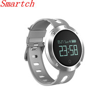 Smartch DM58 smart Сердечного ритма Приборы для измерения артериального давления часы IP68 Водонепроницаемый Спортивный Браслет Смарт Фитнес трекер PK Ми Ba