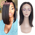 Coleen Bob Lace Front Wigs Brazilian Hair Glueless Full Lace Wigs Human Hair Bob Wigs With Baby Hair Short Wigs For Black Women