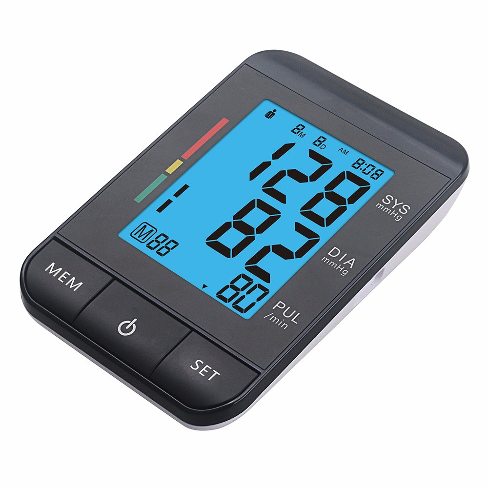 Health Care Automatic Wrist Blood Pressure Monitor Digital LCD Wrist Cuff Blood Pressure Meter Esfingomanometro Tonometer (4)
