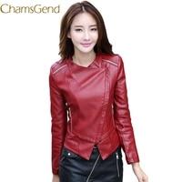 11 11 2017 Plus Size 3XL Long Women Leather Jacket Women Leather Coat Female Spring Ladies