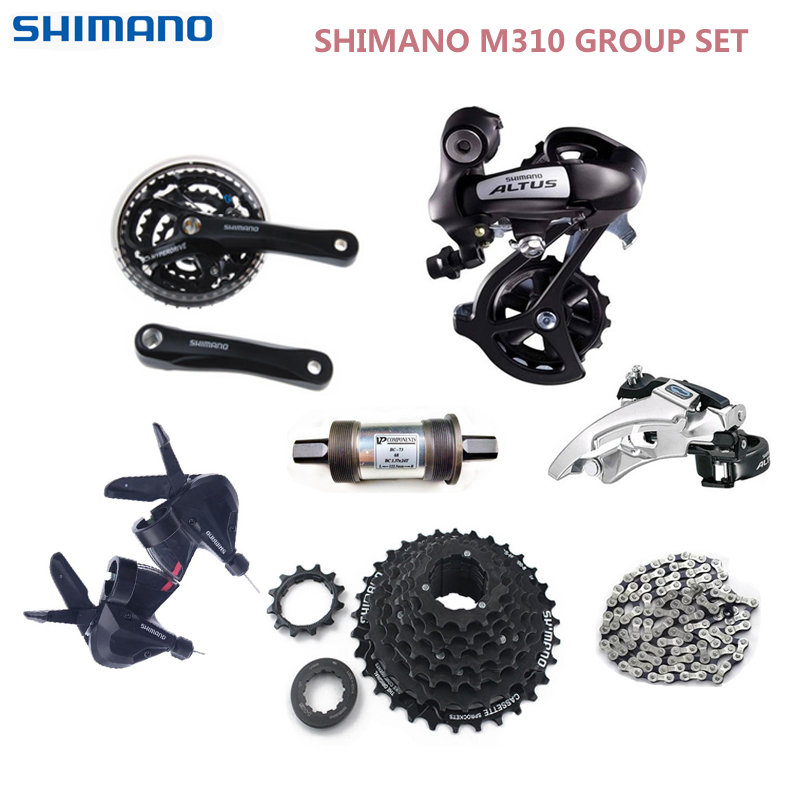 Shimano ALTUS M310 3x8 24 Speed Groupset MTB Bike Bicycle