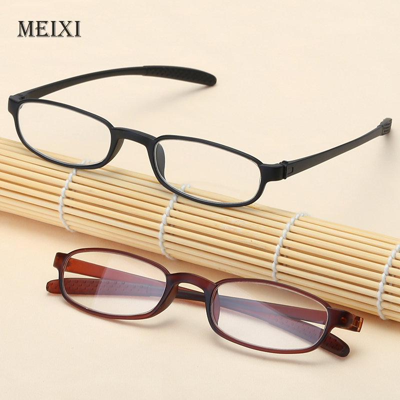 Men Women Reading Glasses Ultra Light Super Tough Resin Lens Presbyopic Glasses Presbyopia Eyewear with box