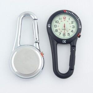 Image 5 - ALK Fob klip karabina cep saati Fob tıbbi spor saatler Vintage hemşire saat dağcılık spor ekipmanı Dropshipping
