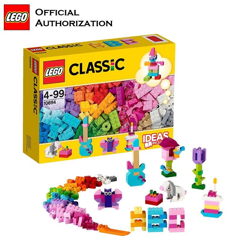 Lego 303 pièces Classique Série Boîte blocs De construction Enfants Jouet Livraison Creative D'apprentissage Blocs De Construction Jouets Blocos De Construcao 10694