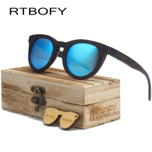 RTBOFY 2017 New Fashion 100% Handmade Wood Cat Eye Sunglasses Women Brand Design gafas de sol  Cool UV400 Sun Glasses Eyewear