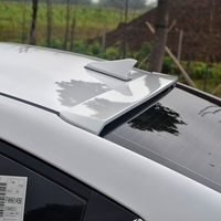 For Hyundai Elantra Spoiler High Quality ABS Material Car Rear Wing Primer Color Rear Spoiler For Hyundai Elantra Spoiler 2017