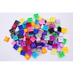 Image 5 - MP 1U DSA Keys PBT Blank Keycap Mixded Color Cherry MX switch keycaps for Wired USB Mechanical Gaming keyboard