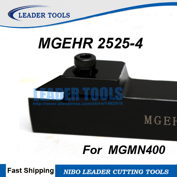 MGMN400-M  4.0mm Carbide Inserts For MGEHR//MGEHL MGIVR Grooving Cut-Off Holder