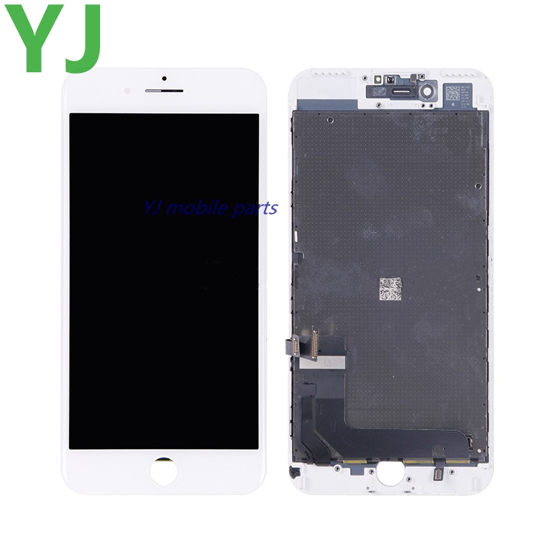 5 pieces/lot by DHL/EMS No Dead Pixel LCD Display With Touch Screen Digitizer Assembly for iphone 7 plus 5.5 inch White/Black