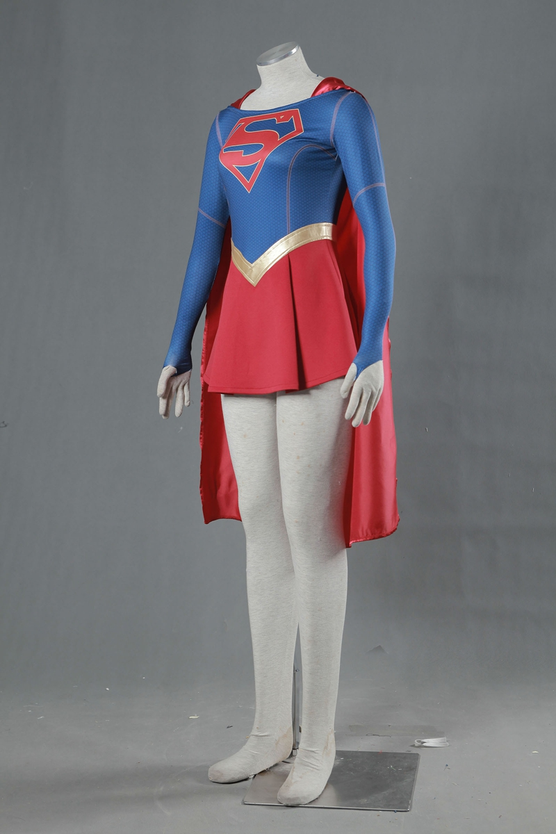 Qualified Supergirl Kara Zor-el Danvers Costume Cape Cosplay Costume Halloween Carnival Costumes Tailor Made Excellent Quality Costumes & Accessories