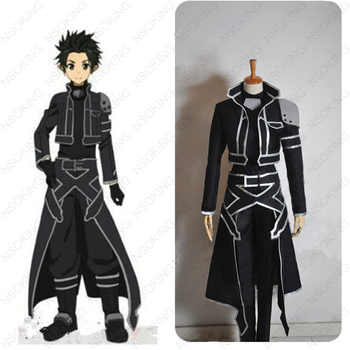 New Sword Art Online Kirigaya Kazuto Costume Anime ALO Kirito Cosplay Costumes Customzied - DISCOUNT ITEM  16 OFF Novelty & Special Use