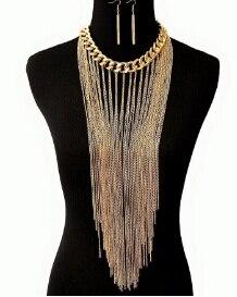 Gold Body Chain Women...