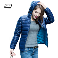 Fitaylor Women Ultra Light Down Jacket Double Side Reversible Jackets Plus Size 4XL Feather Jacket Women With Carry Bag Travel