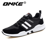 2018 Breathable Mesh Sneakers For Men Spring Summer Man Running Shoes Lightweight Outdoor Sports Shoes Jogging