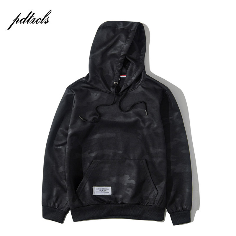 2018 New Fashion Casual Men Sweatshirts Print Hoodies Spring Autumn Winter Thin Hooded Pullovers Tops