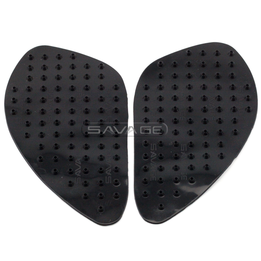 For HONDA CBR250R 2010-2013, <font><b>CBR300R</b></font> 2014-2015 Motorcycle Tank Traction Pad Gas Knee Grip Protector Anti slip <font><b>sticker</b></font> 3M Black image
