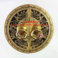 Chinese antique furniture of Ming and Qing Dynasties shoe cabinet piece copper lock drawer handle diameter 11CM perfect conjugal