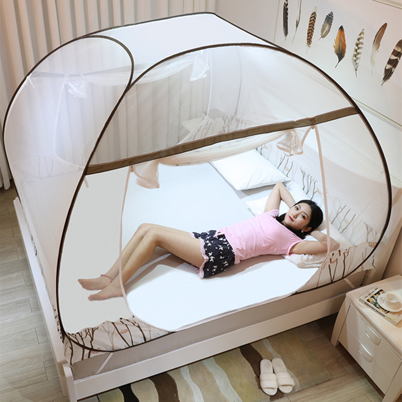 New Summer Mongolian Yurt Mosquito Net For Single Double Bed Elegant Mesh Net Canopy Repellent Tent Portable Folding MosquiterasNew Summer Mongolian Yurt Mosquito Net For Single Double Bed Elegant Mesh Net Canopy Repellent Tent Portable Folding Mosquiteras