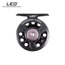 60mm Fly Fishing Reel Extremely-light Full Steel Former Rafting Ice Fishing Wheel Left/Proper Interchangeable Fishing Deal with Pesca