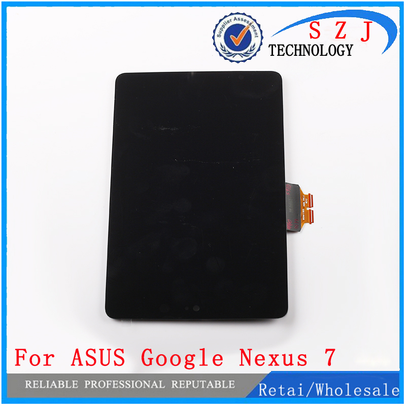 все цены на Newcase for ASUS Google Nexus 7 LCD Display ME370 Screen touch screen digitizer Assembly LCD Screen Display Repair Free shipping онлайн