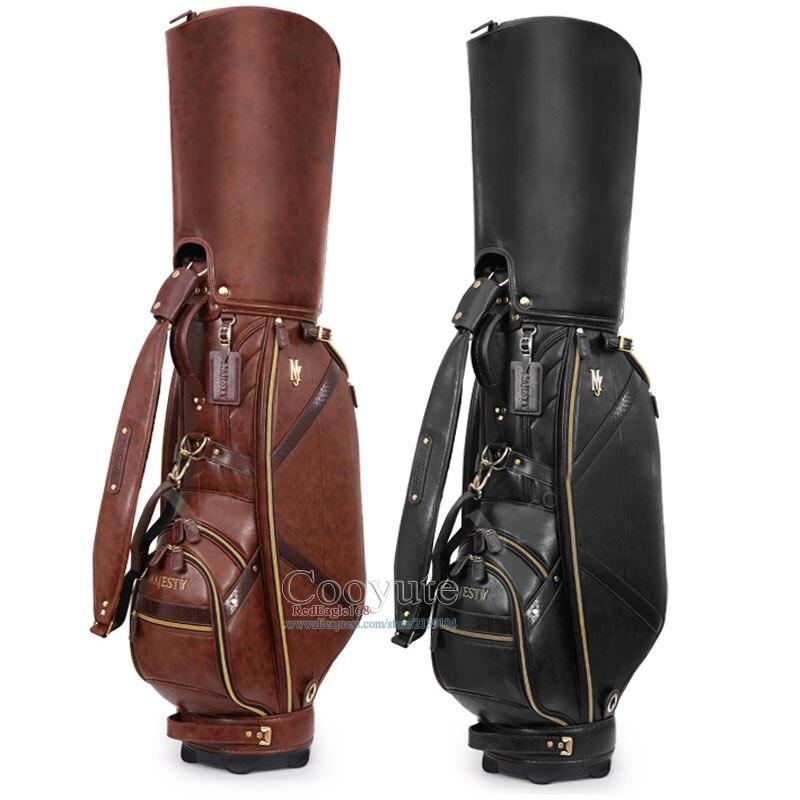 Nouveau sac de Golf Cooyute Maruman majesté PU sac de chariot de Golf au choix 9.5 pouces Clubs sac de balle Standard livraison gratuite