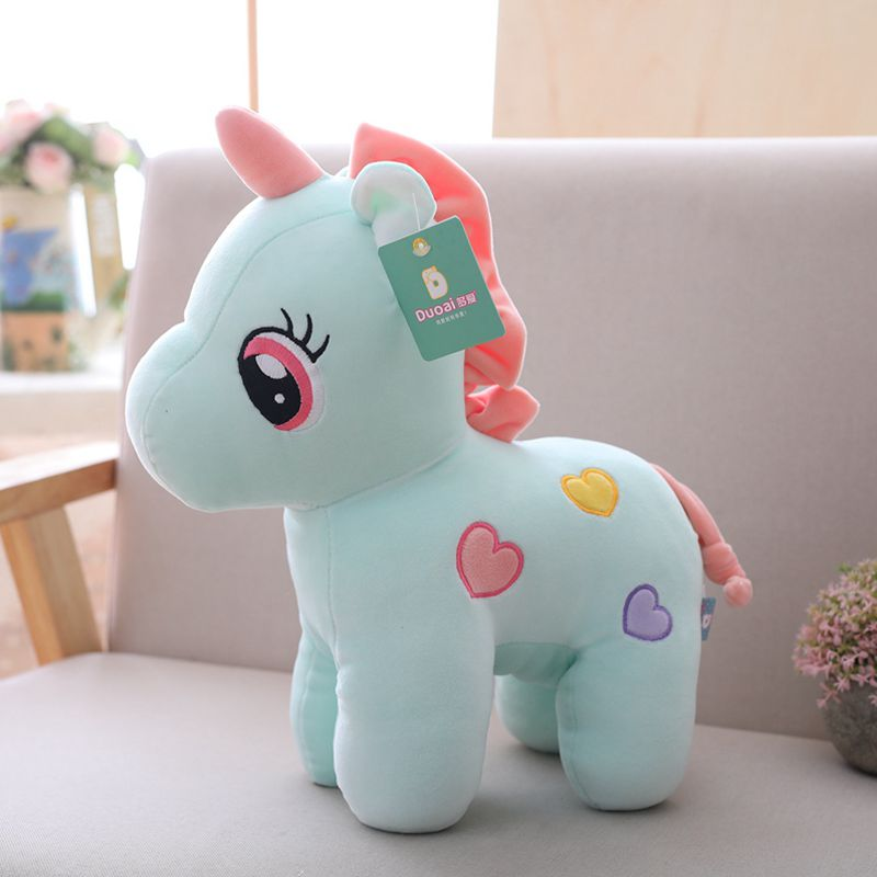 Nooer Lovely Unicorn Plush Dolls Cute Soft Uncorn Stuffed Plush Toy Unicornio Kids Toy Birthday Christmas