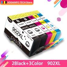 QSYRAINBOW совместимый чернильный картридж для hp 902 hp 902 XL T6M14AN T6M02AN T6M06AN T6M10AN для OfficeJet Pro 6954 6960 6962 6968